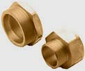 BRASS THREAD ADAPTOR CONNECTORS REDUCERS Brass Connectors Adaptors thread converters bushes stop hex plugs